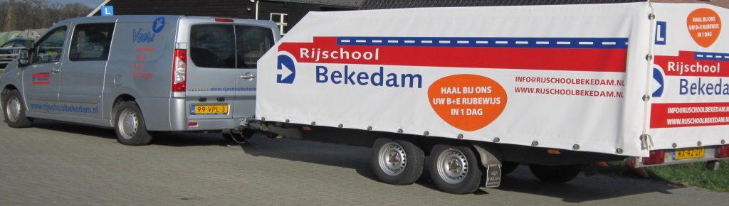 Aanhangwagen rijbewijs Zwolle